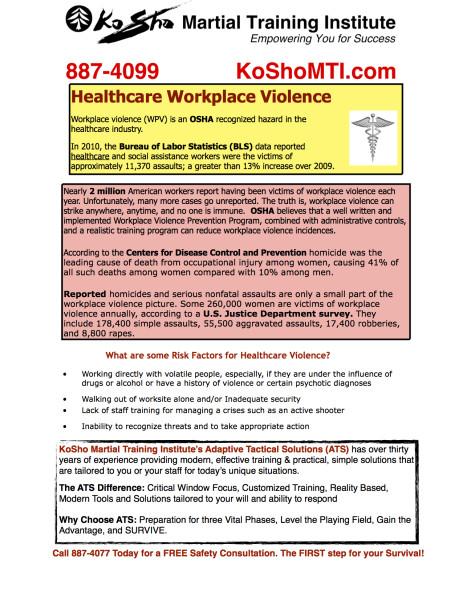 Healthcare Safety Program