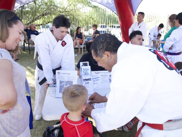 KoSho Karate at KVOA safety event